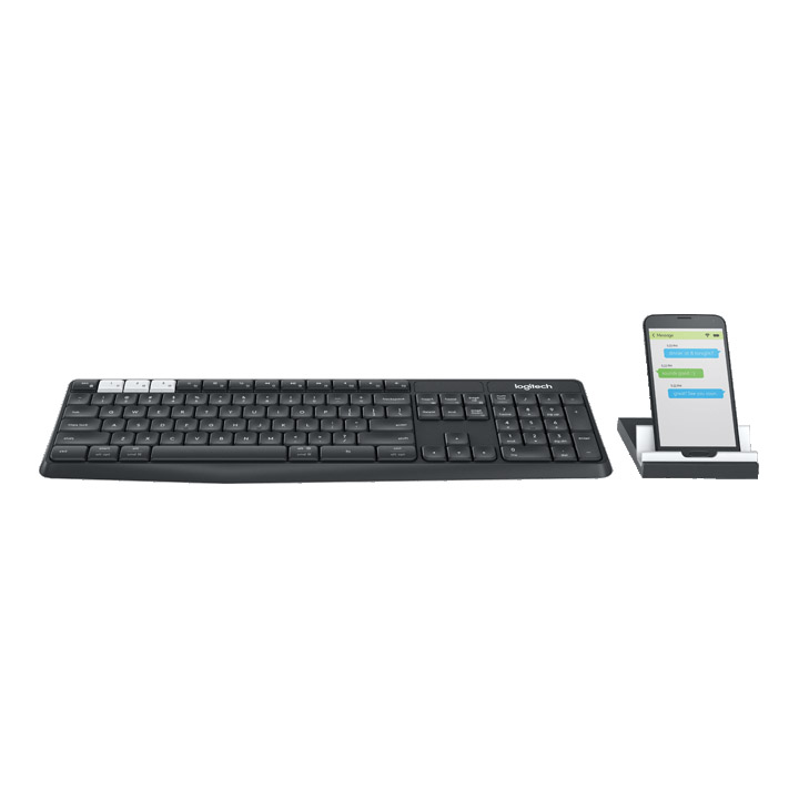 Bàn phím Bluetooth Logitech K375s Multi Device