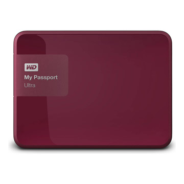 WD My PassPort Ultra 1TB - Berry