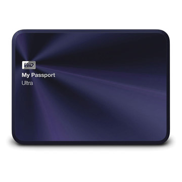 WD My PassPort Ultra Metal Edition 1TB - Blue