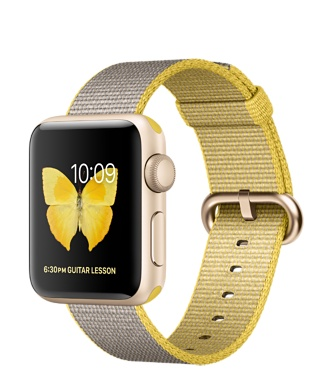 Apple Watch Series 2 Gold Aluminum