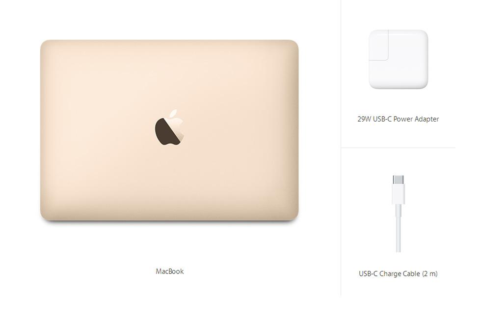 MacBook 12-inch Gold