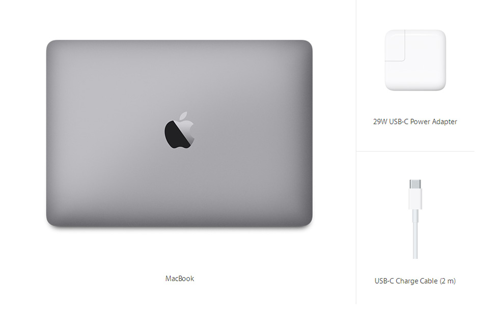 MacBook 12-inch Space Gray