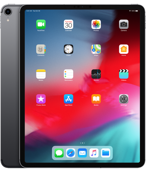 iPad Pro 12.9-inch 2018 Space Gray