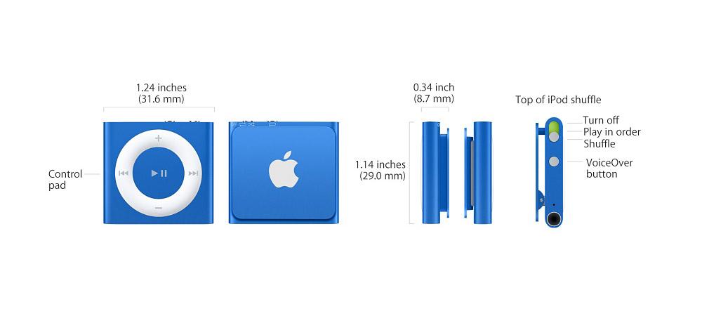 how to wear ipod shuffle