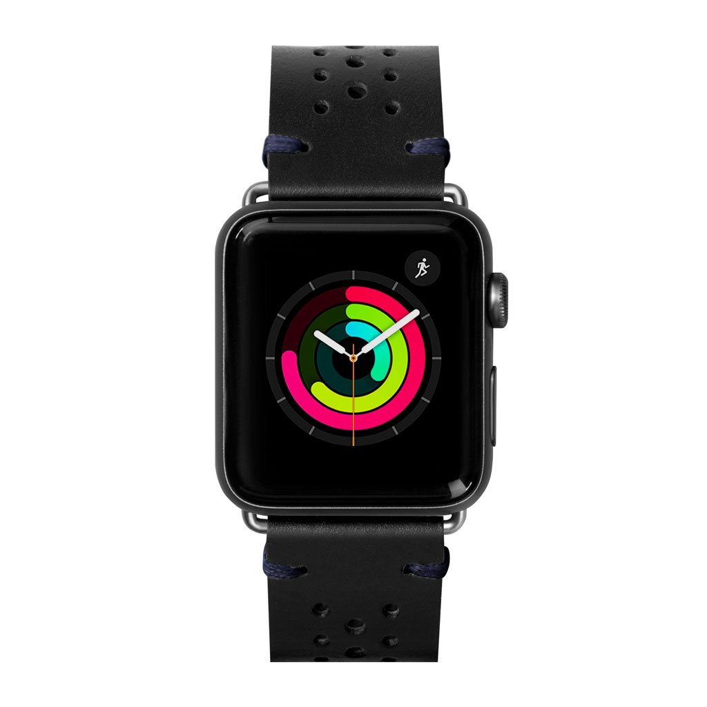 Dây đeo Apple Watch LAUT Heritage Black