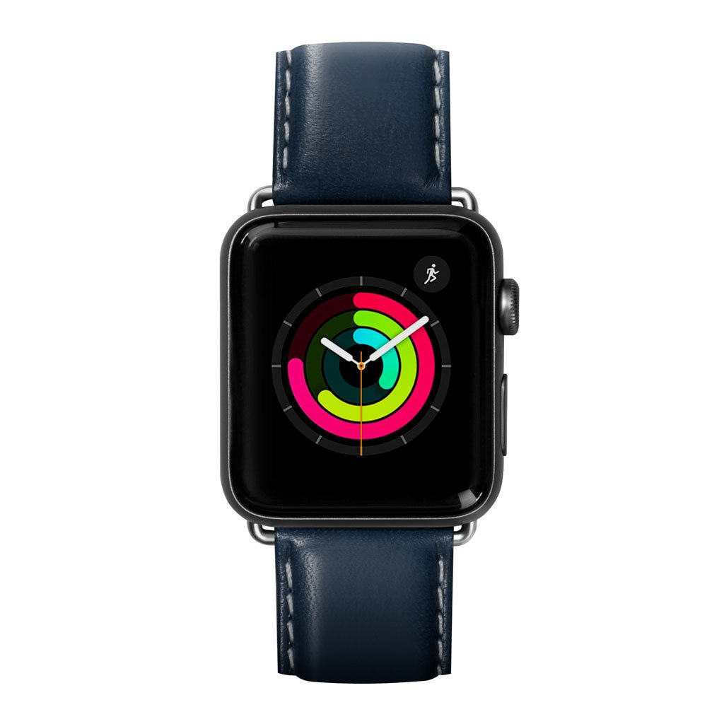 Dây đeo Apple Watch LAUT Oxford Blue