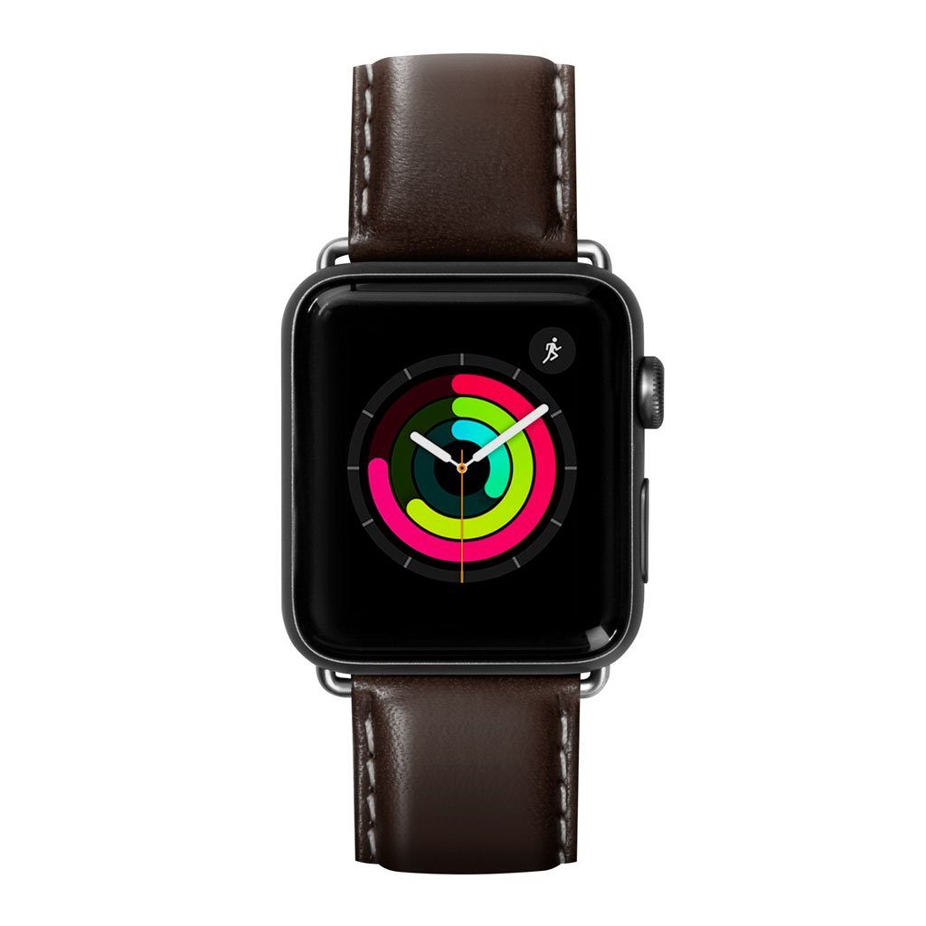 Dây đeo Apple Watch LAUT Oxford Espresso