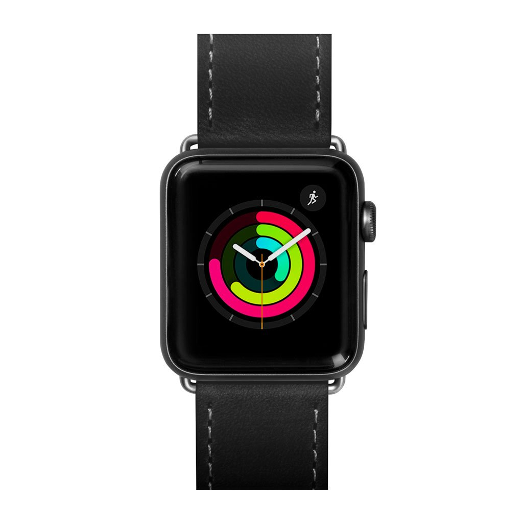 Dây đeo Apple Watch LAUT Safari Black