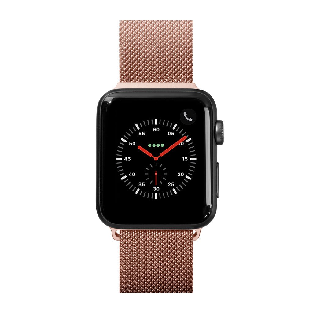 Dây đeo Apple Watch LAUT SteelLoop RoseGold