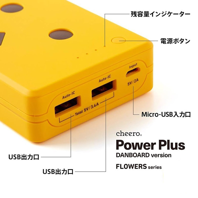 Pin sạc Cheero PowerPlus Danboard 10050mAh