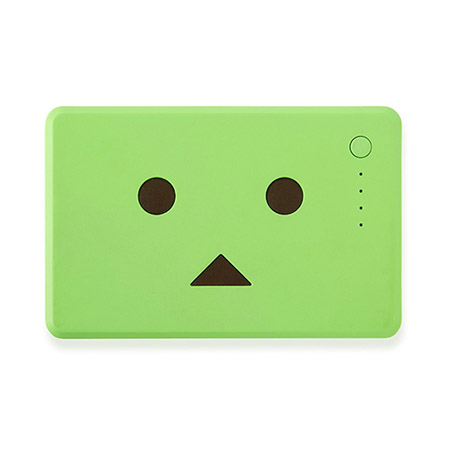 Pin sạc Cheero PowerPlus Danboard 10050mAh Green