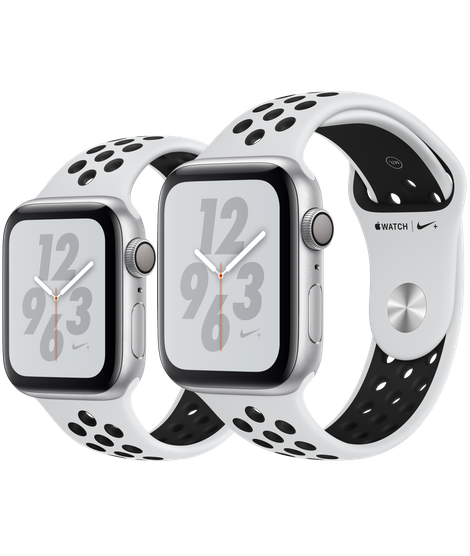 Apple Watch Series 4 Silver Nike