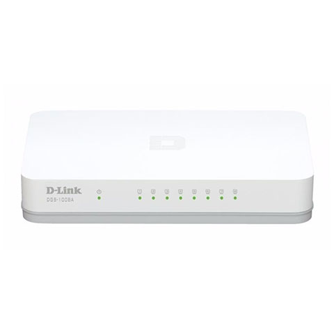 Switch DLink DGS-1008A