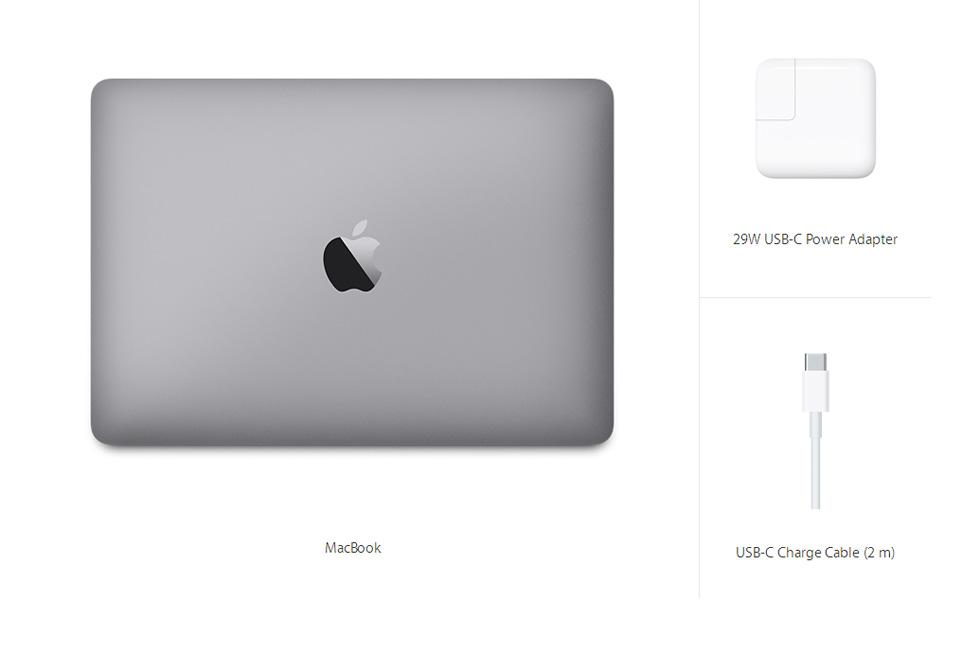 MacBook 12-inch Space Gray